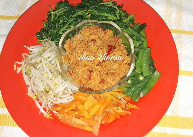 Resep #Gudangan (urap sayur)