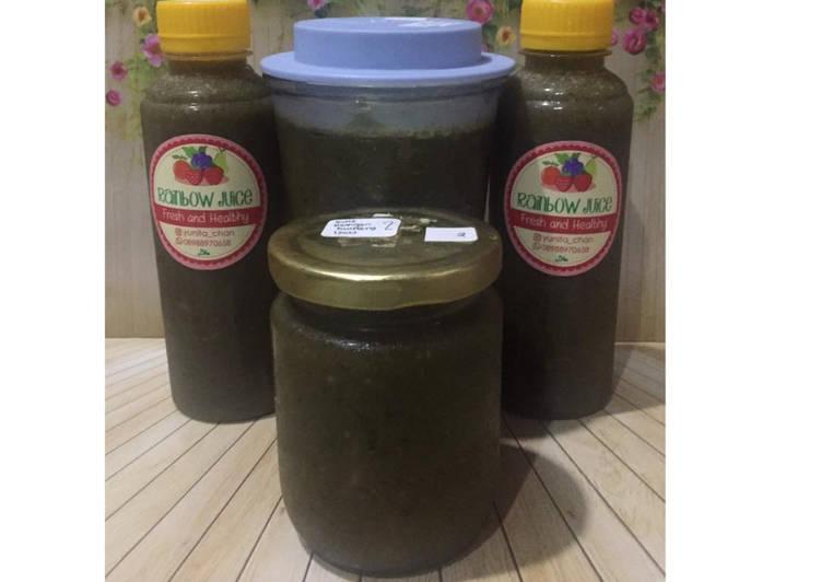 Resep Diet Juice Kale Mango Blueberry Lime