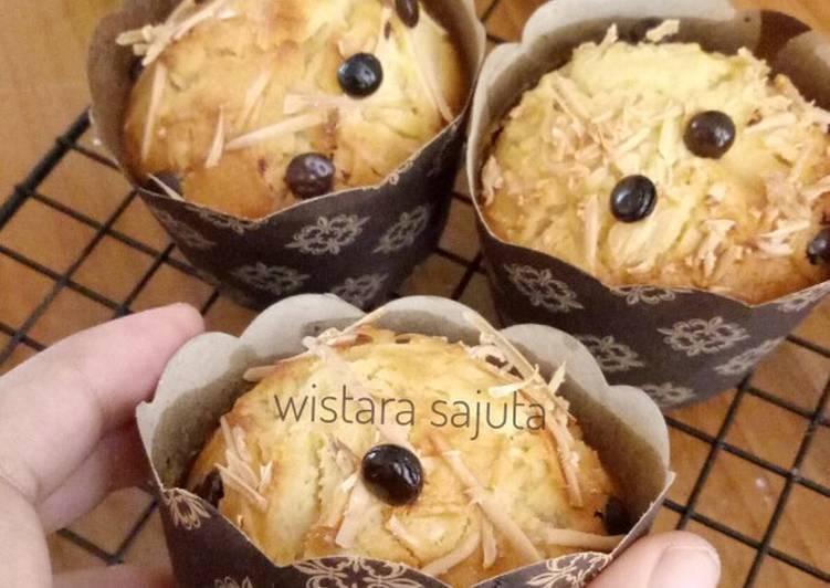 Resep Muffin Keju / Cheese Muffin NO MIXER