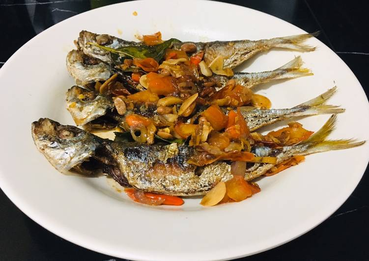 Resep Tauco Ikan Kembung Pedas