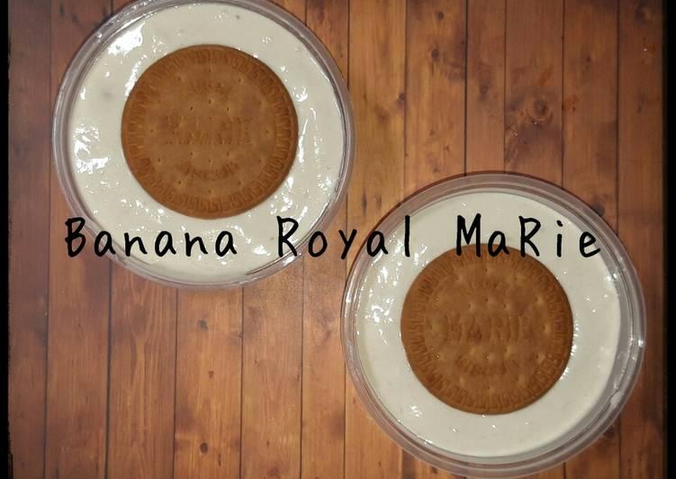 Resep Banana Royal maRie