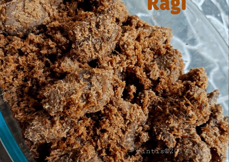 Resep Dendeng Ragi