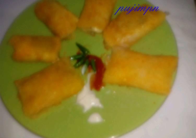 Resep 1Risoles Mayo dengan kulit pisang