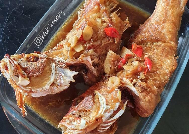 Resep Ikan masak bawang kecap