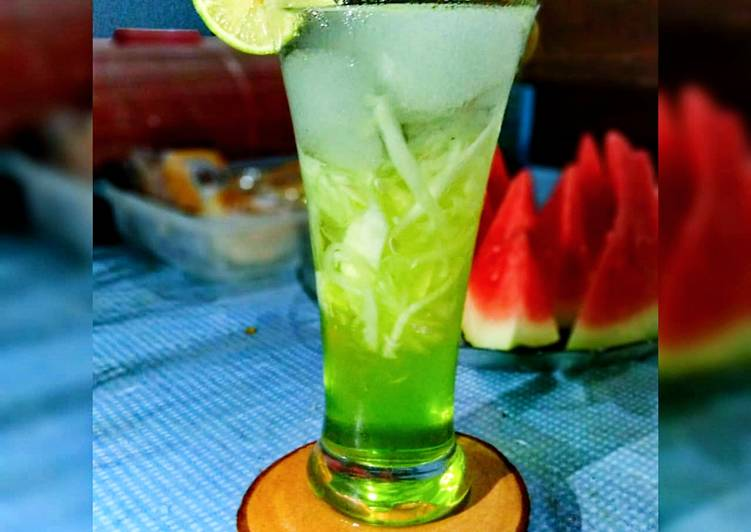 Resep Ice Green Land