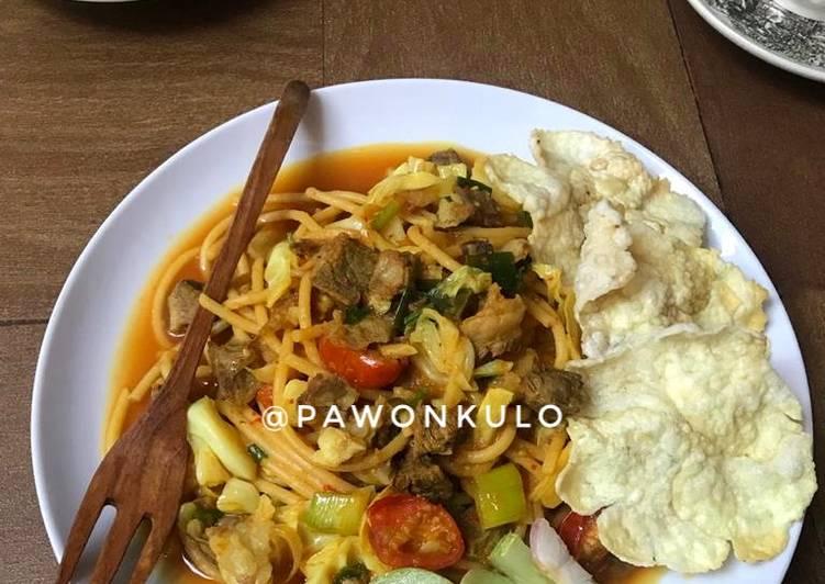 Resep Spaghetti Aceh