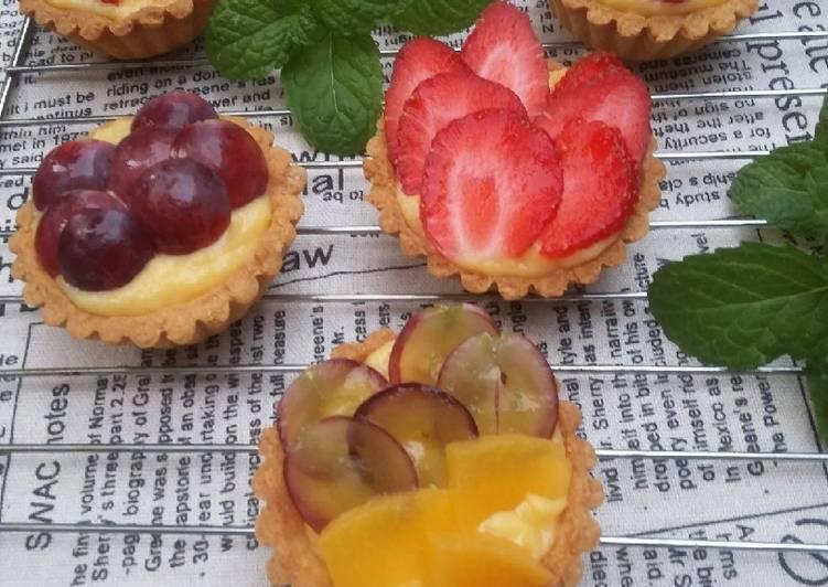 Resep Fruit tart