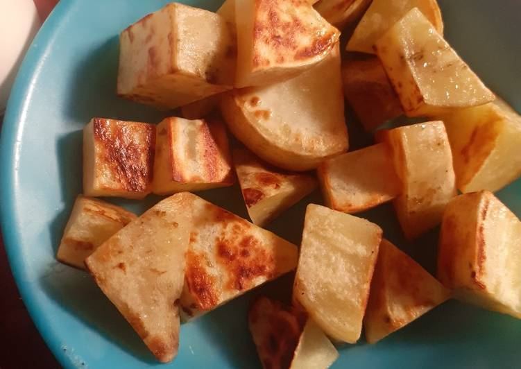 Resep Simple Grilled Sweet Potato