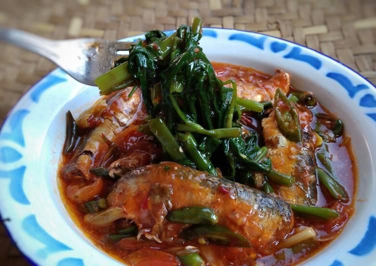 Resep Kangkung Siram Sarden