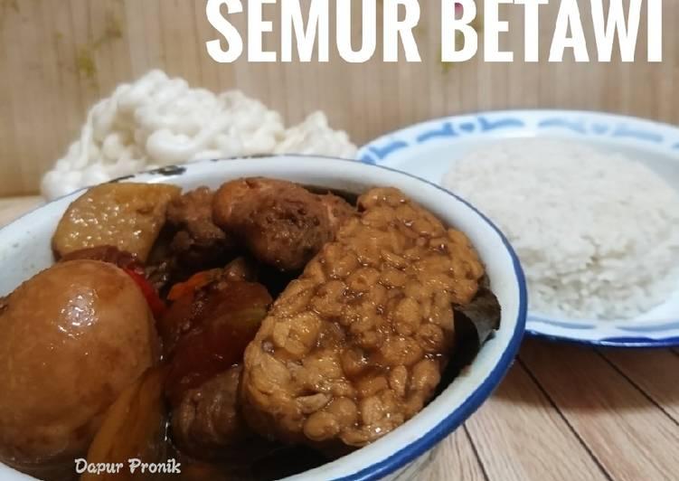 Resep Semur ala Betawi