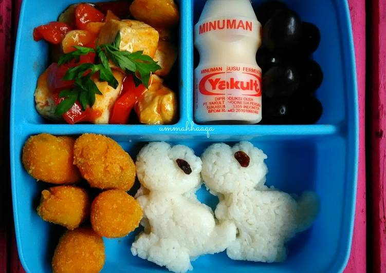 Resep Simple Bento For Kids