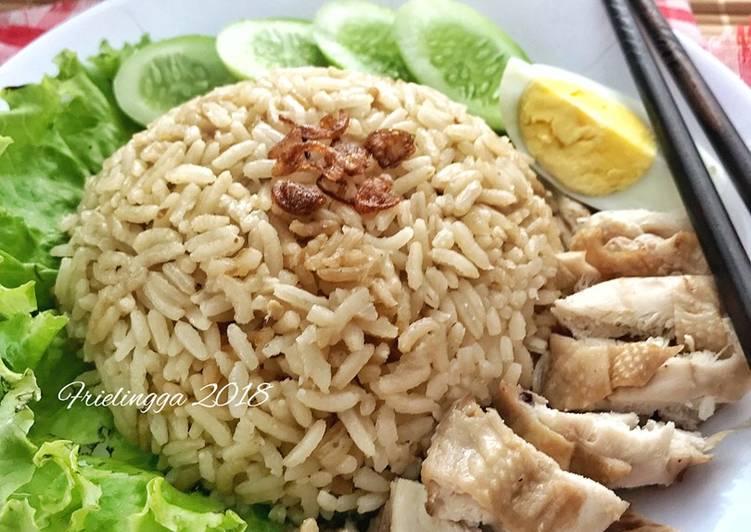 Resep Nasi Hainan dg Rice cooker