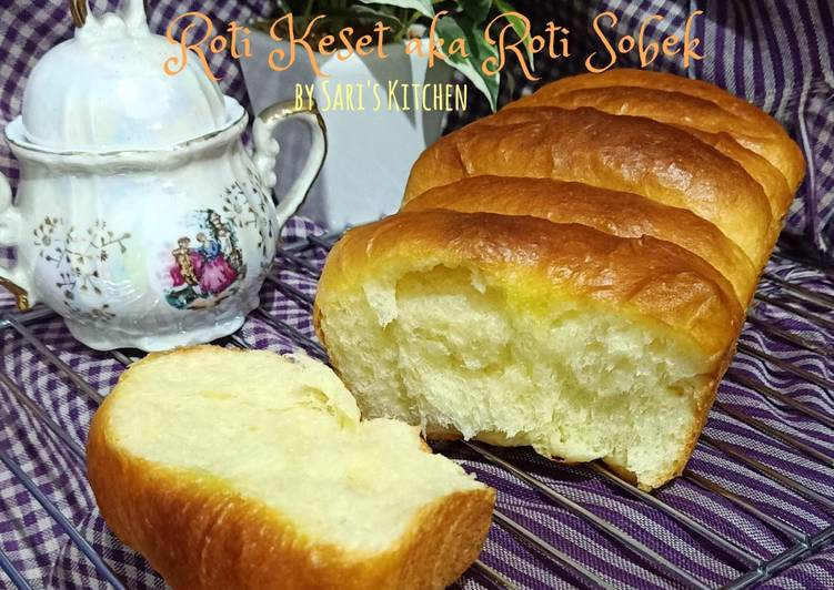 Resep Roti Keset aka Roti Sobek