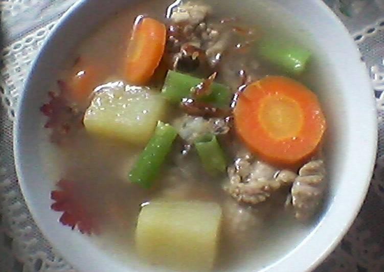 Resep Sup Ayam Sayur