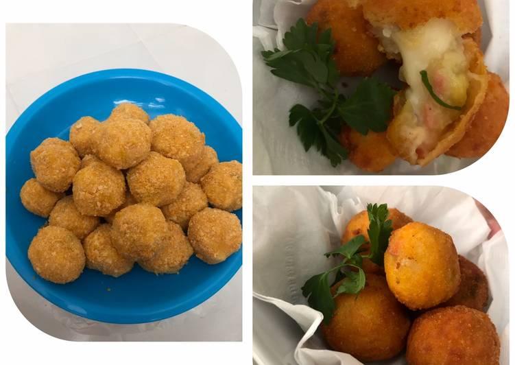 Resep Potato cheese ball