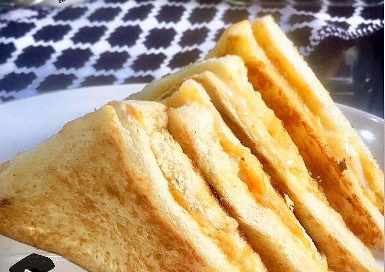 Resep 1Egg Melt Sandwich