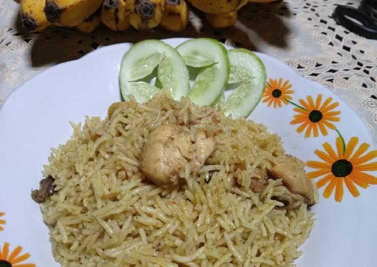 Resep (Nasi Briyani Simple