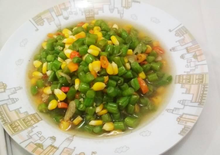 Resep Buncis wortel jagung