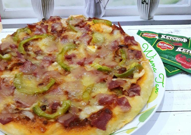 Resep Pizza   No Knead Dough