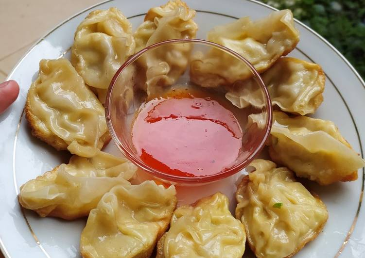 Resep Gyoza / Dumpling Ayam Rumahan