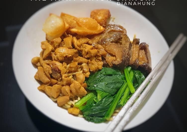 Resep Mie Ayam Jamur Siangku