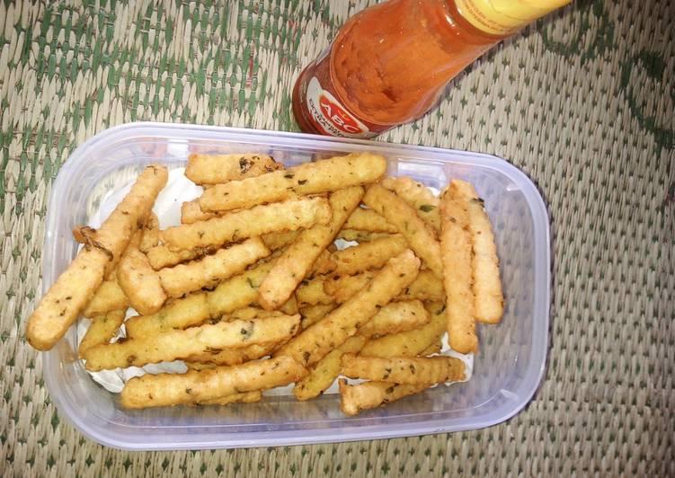 Resep Stik keju kentang