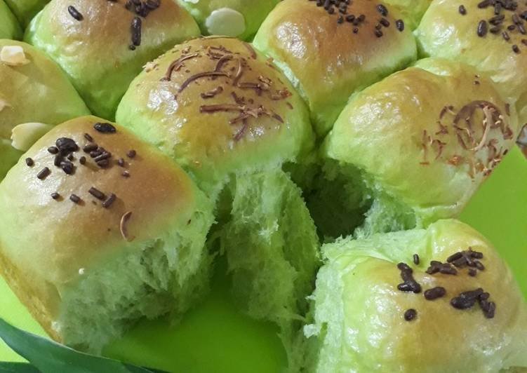 Resep Roti sobek pandan