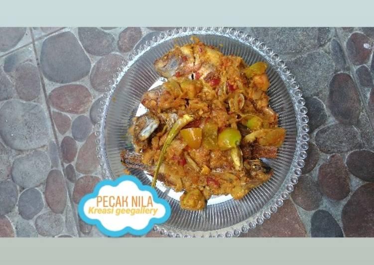Resep Pecak ikan nila