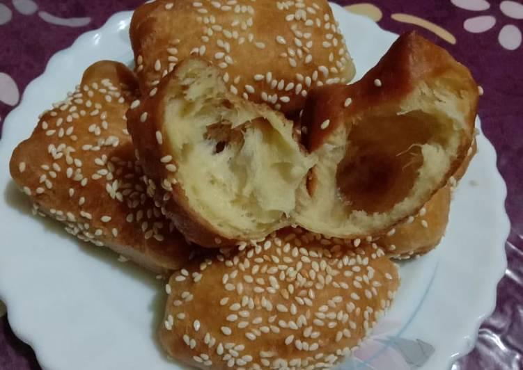 Resep Odading/roti bantal/roti goreng