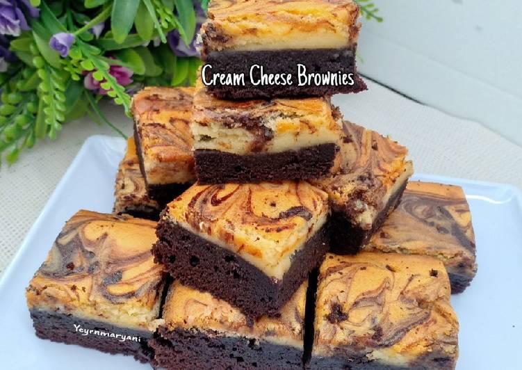 Resep Cream Cheese Brownies