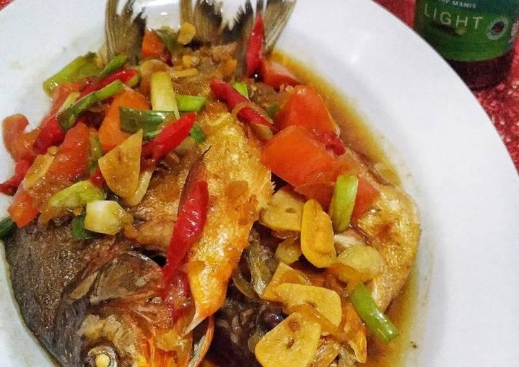 Resep Ikan Bawal Masak Kecap