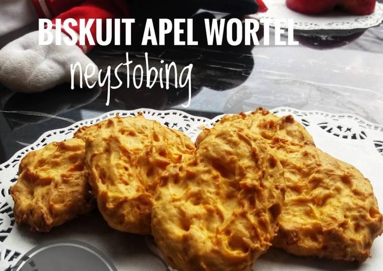 Resep #Biskuit Apel Wortel