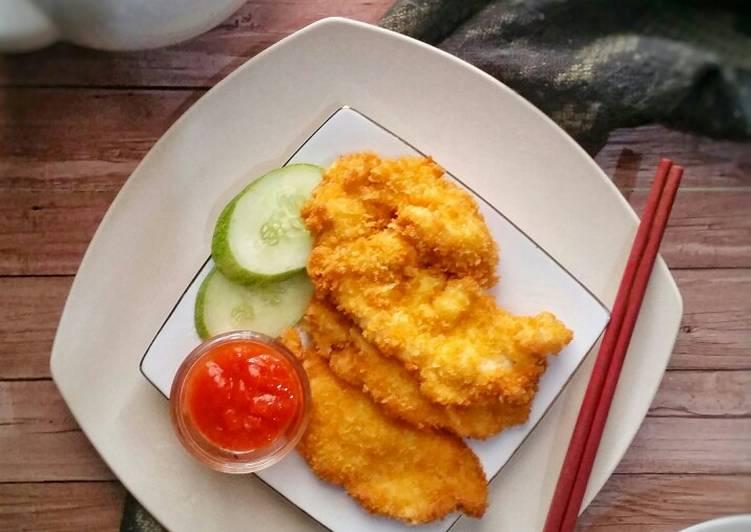 Resep Chicken Katsu Special