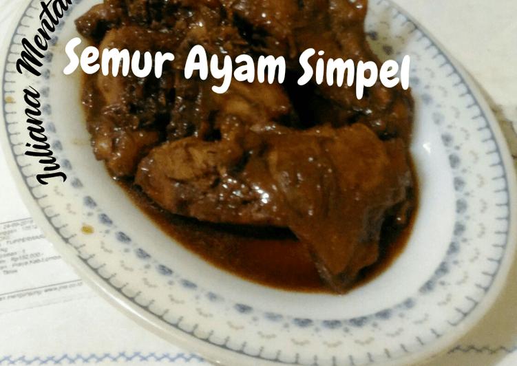 Resep Semur Ayam Simple // #Mudik Online