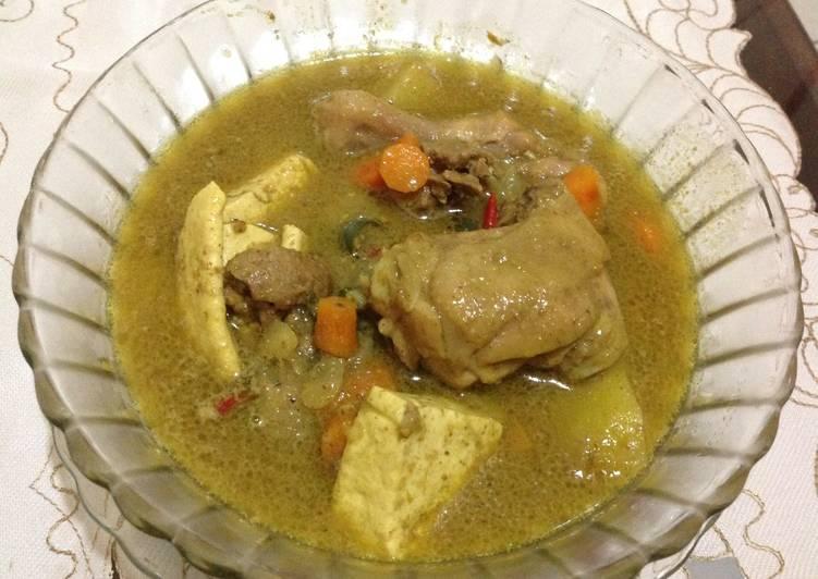 Resep Opor Ayam Bumbu Indofood +