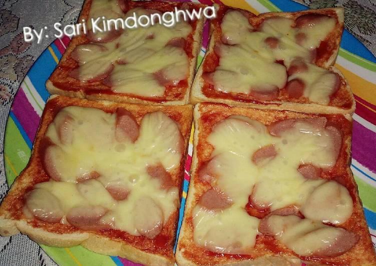Resep Roti pizza