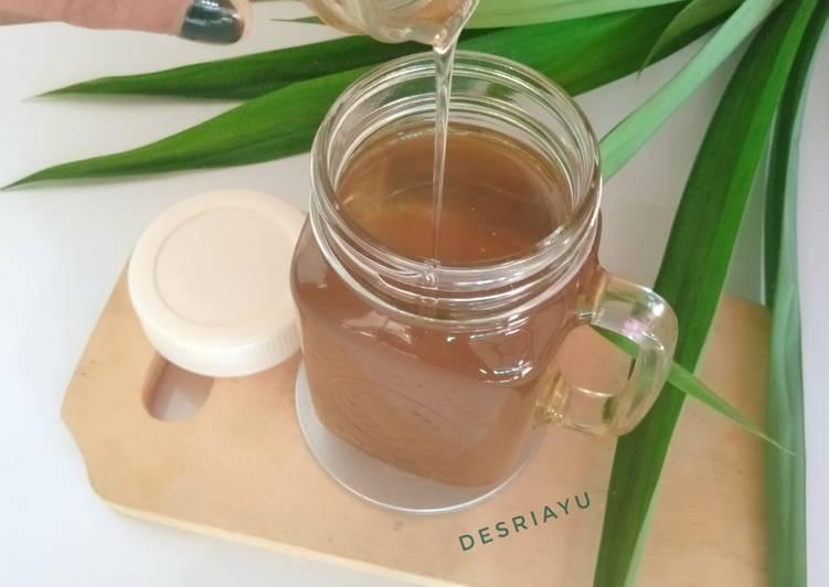 Resep Simple Syrup Pandan Vanilla