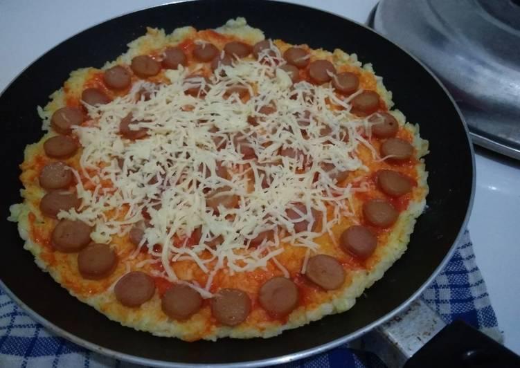 Resep Pizza nasi a.k.a nasi dadar #BikinRamadanBerkesan
