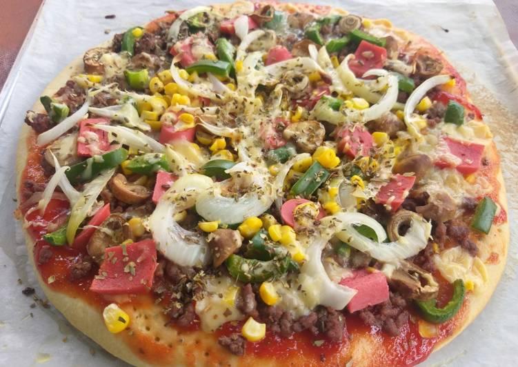 Resep Pizza suka suka