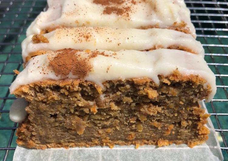 Resep Carrot cake with cream cheese frosting