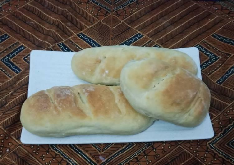 Resep Roti Baguette