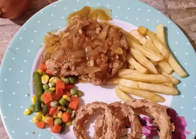 Resep Chicken Steak
