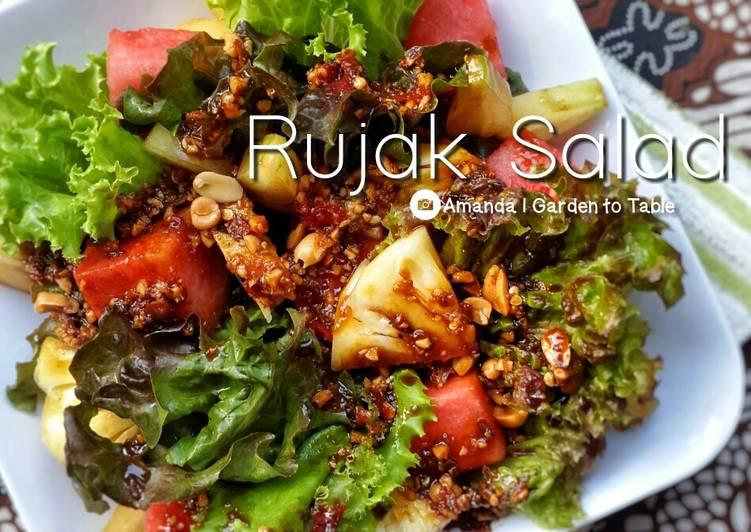 Resep Rujak Salad