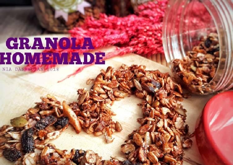 Resep Granola Homemade
