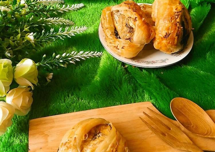 Resep Bolen Pisang Pastry