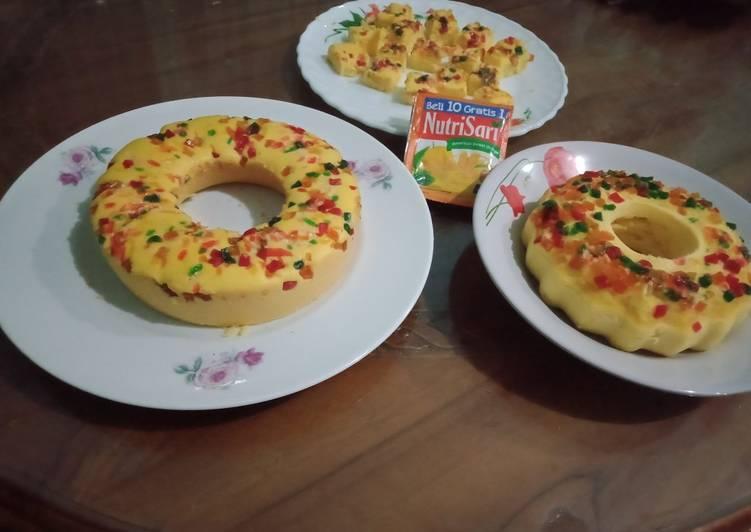 Resep Cake NUTRISARI RECIPE versi kukus dan dan panggang - DAPUR MARIS