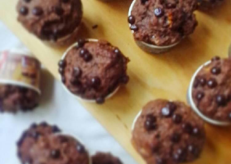 Resep Banana Chocolate Muffin nge-Doom