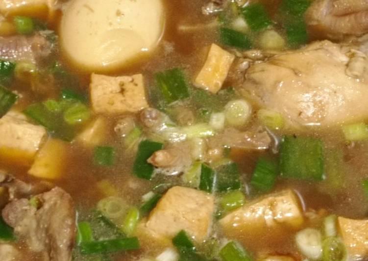 Resep Bakmoy Ayam Kuah