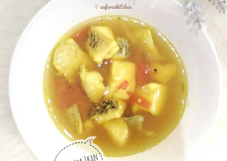 Resep Sop Asam Ikan Gurame #rabubaru #ketofriendly