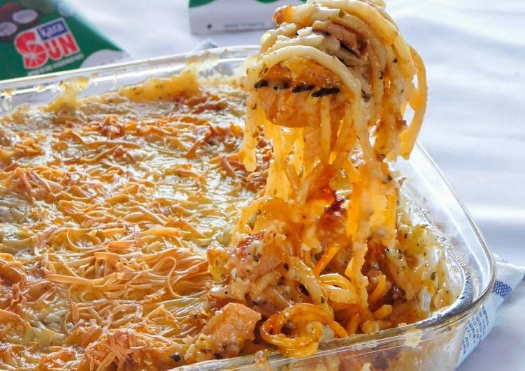 Resep Spaghetti Brulle